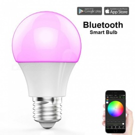 youoklight bluetooth APP smart LED-lampa dimbar multicolored disco light smartphone kontrollerad hushålls glödlampa