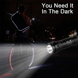 UF-502A Portable Super Bright 5-Mode Flashlight Torch Light - Black