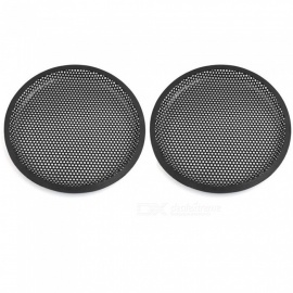 "CARKING 8"" Car Subwoofer Metal Mesh Grill Speaker Cover Protector Guards Black 2 Pcs"