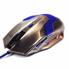 Q1 Gaming Optical Mouse, Computer USB Wired Gamer Professional Ergonomic Luminous Mice for PC Laptop