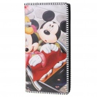 Cute Cartoon PU Leather Purse Wallet - Mickey Mouse
