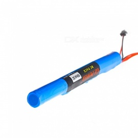 GE Power RC Lipo Battery 11.1V 1500mAh 20C SM2P Plug AKKU Mini Airsoft Gun Battery RC Model 40C - Blue