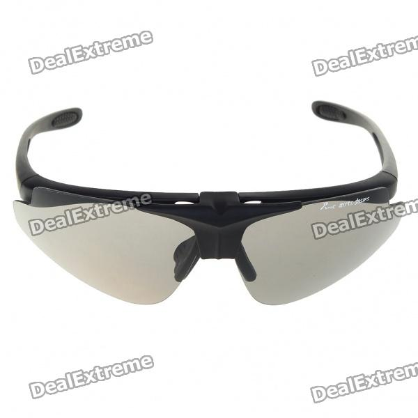 Stylish Replaceable Lens Sports Sunglasses Goggle with Carrying Case Set