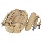 Vintage Multi-Pocket Nylon Cloth Handbag/Messenger/Waist Bag for Camera - Coyote Tan