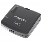USB 2.0 Mini External Hard Drive Enclosure - Black (40GB)