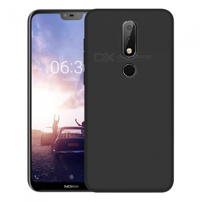 free shipping a8d7b f2a89 Naxtop PC Hard Protective Back Case for Nokia 6.1 Plus/X6