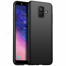 Naxtop PC Hard Protective Back Case for Samsung Galaxy A6 (2018) - Black