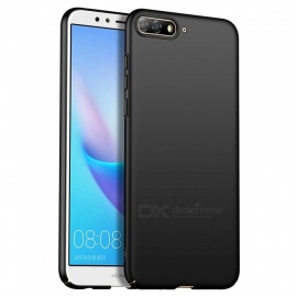 Naxtop PC Hard Protective Back Case for Huawei Y6 (2018) - Black