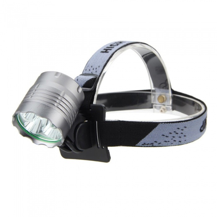 ZHAOYAO T6 5-LED Super Bright Bicycle Headlight, Mountain ...