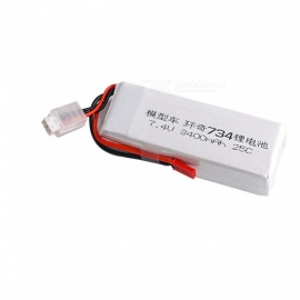 1PC 7.4V 25C 3400mAh JST Plug for BG1513 734A Transmitter RC Remote Control High Lipo Battery Helicopter Quadcopter Drone Part