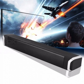 soundbar 10W draagbare stripvormige stereo bluetooth draadloze luidsprekers home theater speaker zwart