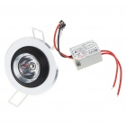 1W 90-Lumen 3500K Warm White LED Ceiling Lamp/Down Light with LED Driver (AC 85~265V)