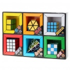 Brain Teaser Magic IQ Cubes Set (6-Cube Set)