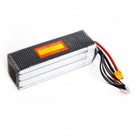 1PC 22.2V 5600mah Lipo Battery 35C XT60 plug For Culvert / Remote Control Trex 600 700 Helicopter Drone Airplane Aeromodelo