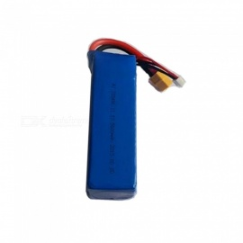 1PC 11.1V 5600mAh XT60 Plug High Lipo Battery for X380 V303 V393 CX-20 Remote Control Helicopter Quadcopter Drone Part - Blue