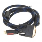 1080P HDMI Male to 24+1 Pins DVI Male Connection Cable (1.5M)