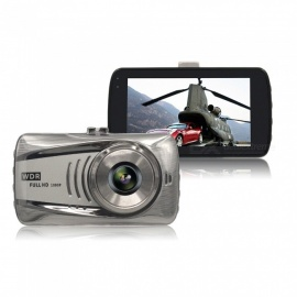 3,0 tums full HD 1080P bil DVR kamera, mini dashcam video clerks bil kamera, WDR parkeringssensor dash cam