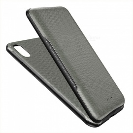 ROCK P53 Wireless Charging Back Case, 5000mAh Extra Back Clip Battery Charger Case Power Bank For IPHONE X Army Green