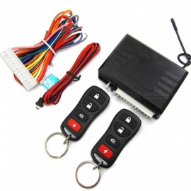 M616-8170 Car Keyless Access to Central Lock with Indicator + 2 Remote Controls - Black