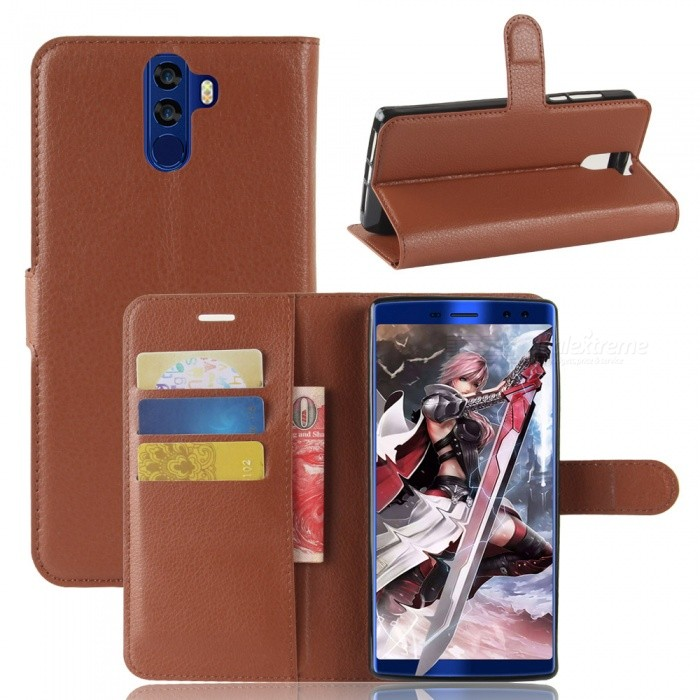 Naxtop Phone Wallet Flip Leather Holder Cover Case for Doogee BL12000 Pro/BL12000