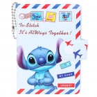Cute Cartoon Style 12-Slot ID Card/Badge Holder/Bag - Stitch