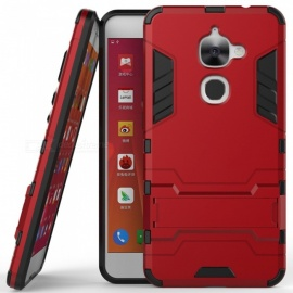 ASLING 2 in 1 Protective Stand Phone Case For LeTV LeEco Le S3 X522 - Red