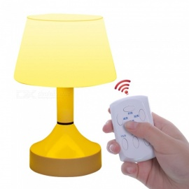 Jiawen LED Desk Lamp Eye Protection Remote USB Rechargeable Reading Lamp Yellow Light
