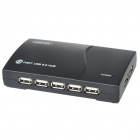 13-Port USB 2.0 Hub with External Power Source (100~240V AC Adapter)