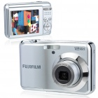 "Genuine Fujifilm AV105 12MP CCD Digital Camera w/ 3X Optical Zoom/TV-Out/SD Slot - Silver (2.7"" LCD)"