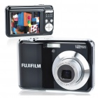 "Genuine Fujifilm AV105 12MP CCD Digital Camera w/ 3X Optical Zoom/TV-Out/SD Slot - Black (2.7"" LCD)"