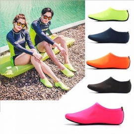 Water Sports Swimming Diving Socks, Anti Skid Beach Socks Shoes, Adult Diving Boots Wet Suit Shoes For Men Women Black/XL