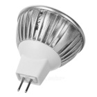 MR16 3W 3-LED 260-Lumen 6500K White Light Bulb (12V)