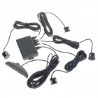 Car Parking Sensor/Radar Kit - Black (DC 12V)