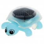 Solar Powered Crawling Tortoise Educational Toy - Light Blue