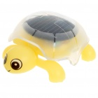 Solar Powered Crawling Tortoise Educational Toy - Yellow
