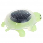 Solar Powered Crawling Tortoise Educational Toy - Green