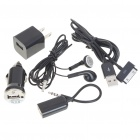 5-in-1 Charger Kit for iPod/iPhone 3GS/4