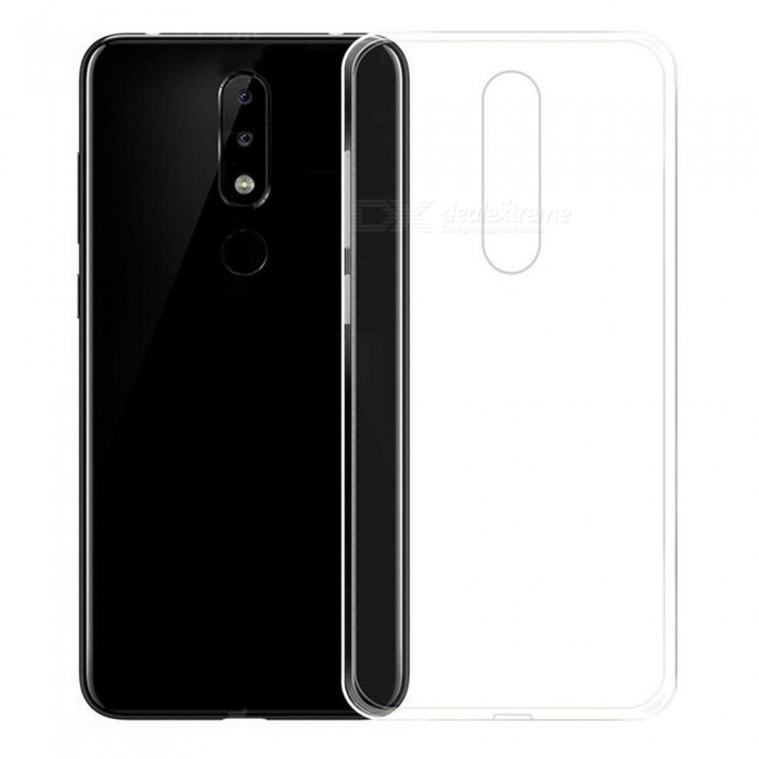 Naxtop TPU Ultra-thin Soft Case for Nokia 5.1 Plus/X5 - Transparent