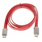 Gold Plated 1080P HDMI V1.4 Male to Male Connection Cable - Red (1.8M-Length)