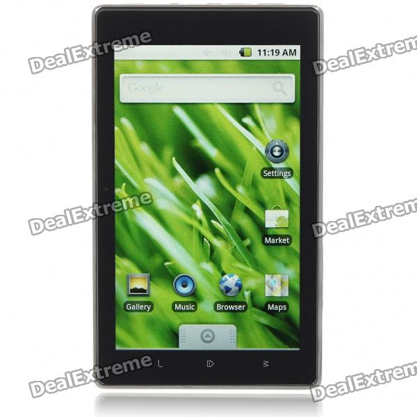 "7 ""écran tactile Google Android 2.1 Tablet PC w / étui en cuir / WiFi / HDMI / OTG / USB / SD"