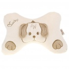 Space Cotton Vehicle Car Seat Head Neck Rest Cushion Pillow - Puppy Pattern (Pair)