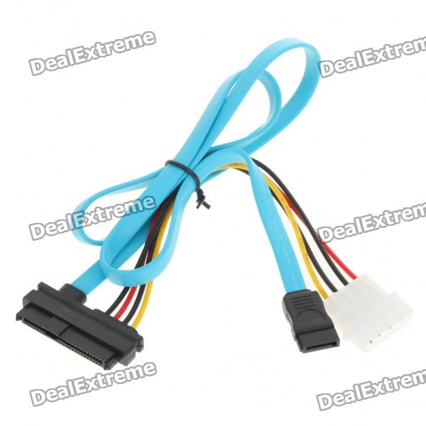 SATA 29-7P Data + Power Cable (Data-70CM Length/Power-20CM Length)