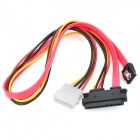 SATA 7+15P/SATA 7+4P Data + Power Cable (30CM-Length)