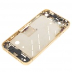 Replacement Middle Plate with Repair Parts for iPhone 4 - Gold