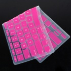 "Silicone Keyboard Protective Cover for Apple Macbook Air 11.6"" - Deep Pink"