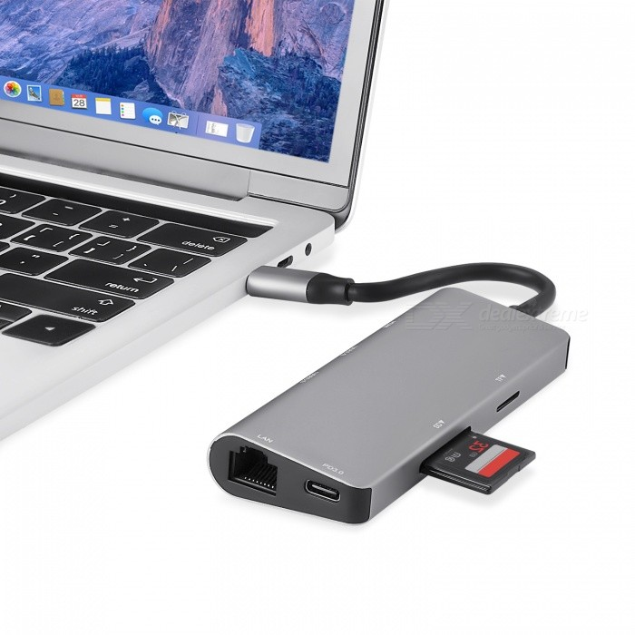 Measy 7 in 1 USB Type C Hub with HDMI, SD Card Reader, USB ...