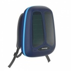 [Presale] Hanergy Solar Energy Charging Backpack with Built-in Solar Panel, 4950mAh Battery Charger Business Travel Bag - Blue