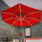 [Pre-sale] Hanergy Solar Powered Power Generation Umbrella - Red