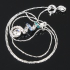 Fashion Elegant Necklace - Silver (40CM-Length)