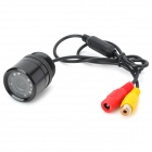 Vehicle Rear Sight Video Camera with Night Vision (9 InfraRed IR LED)